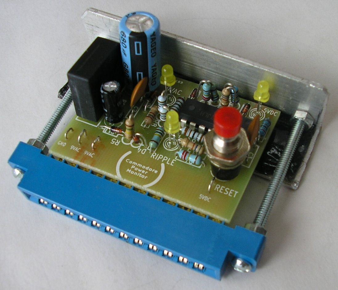 Commodore Power Supply Monitor - CNK