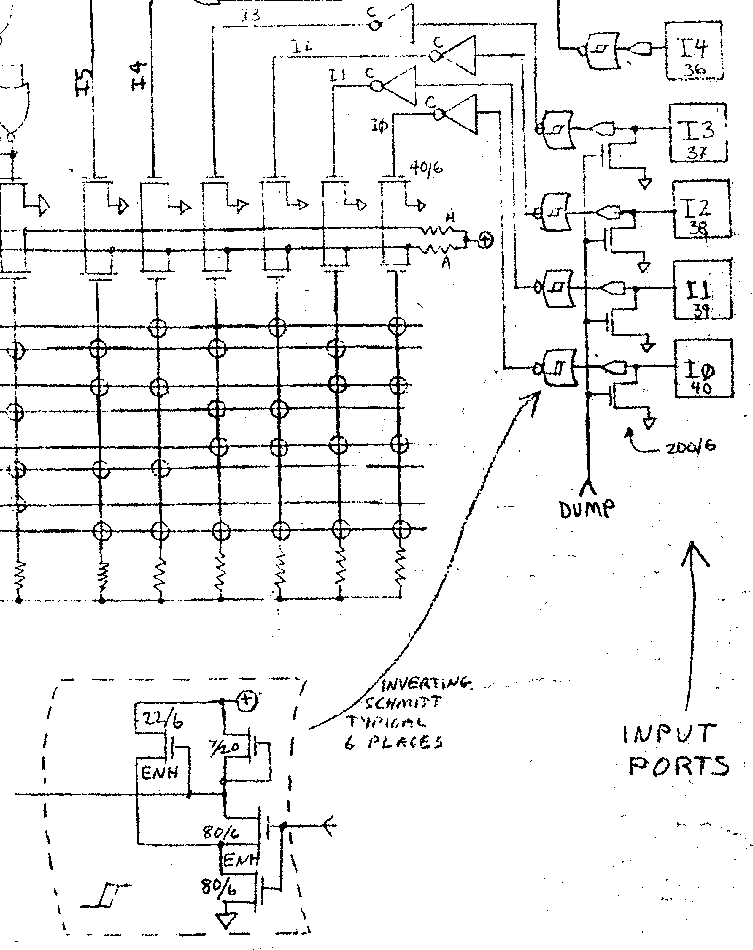 Vectrex Controller To Atari 2600 Adapter Cnk The Lm324 Quad Comparator Circuit Images Frompo Sheet Two Of Tia Schematic Contains Paddle Section In Upper Right